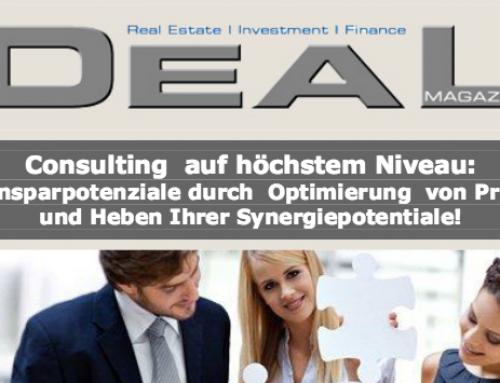 Deal Magazin – Consulting auf höchstem Niveau
